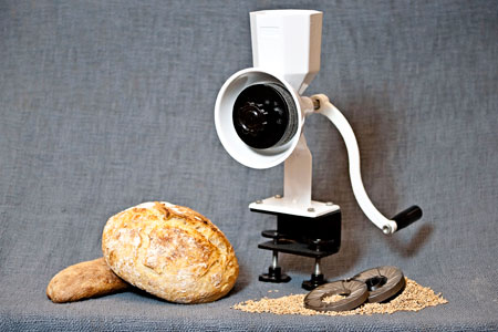 WonderMill Wonder Junior hand grain mill, the best hand mill on the market